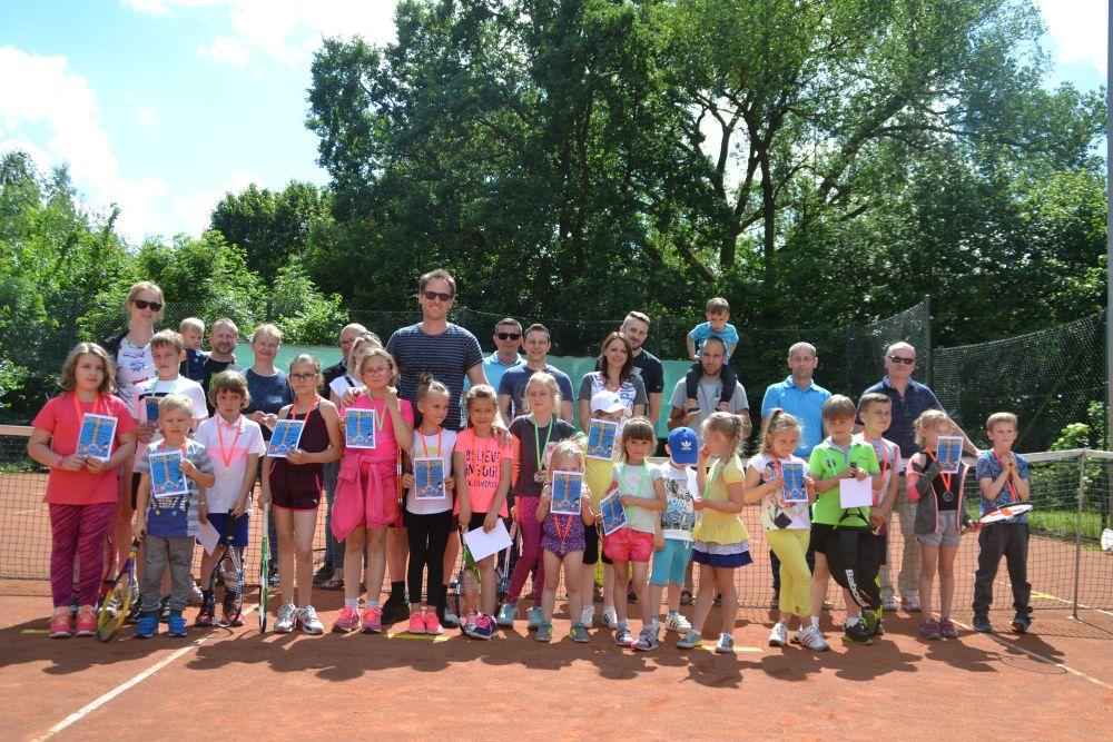 I Turniej tenisa dla uczniów Szkoły Tenisa Roberta Godlewskiego za nami!