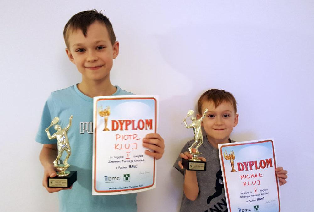 Piotr Kluj wygrywa Zimowy Turniej Krasnali o Puchar BMC w Gdańsku