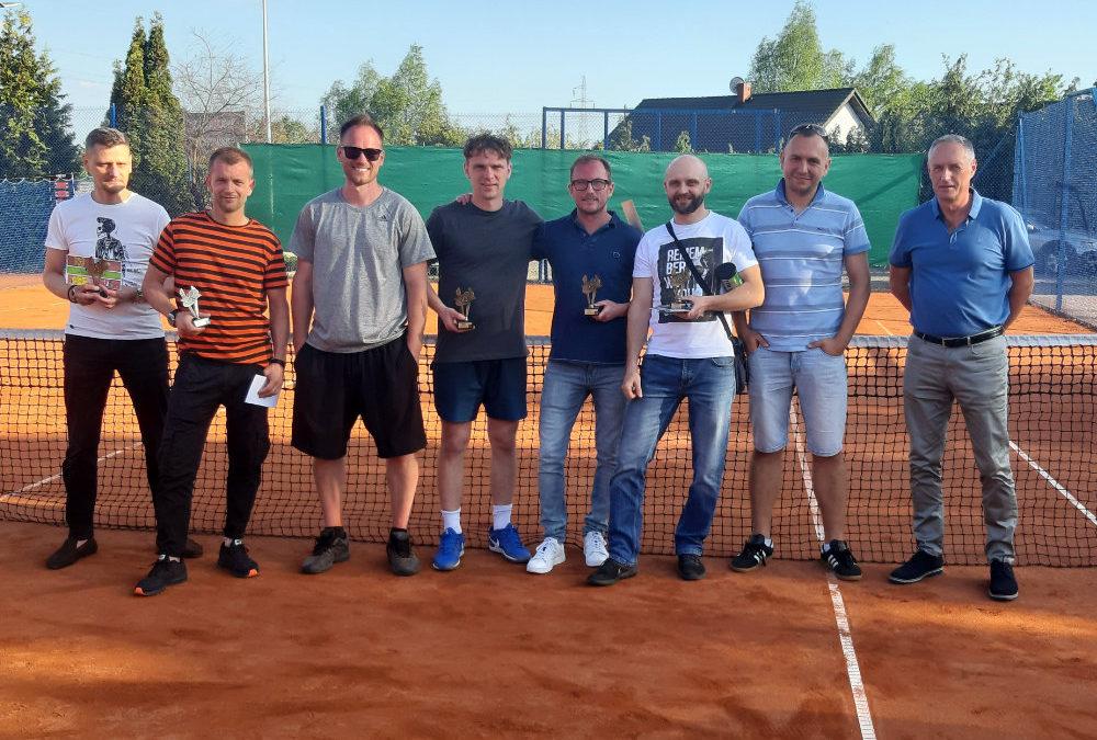 Zakończenie singla i debla ligi tenisa!