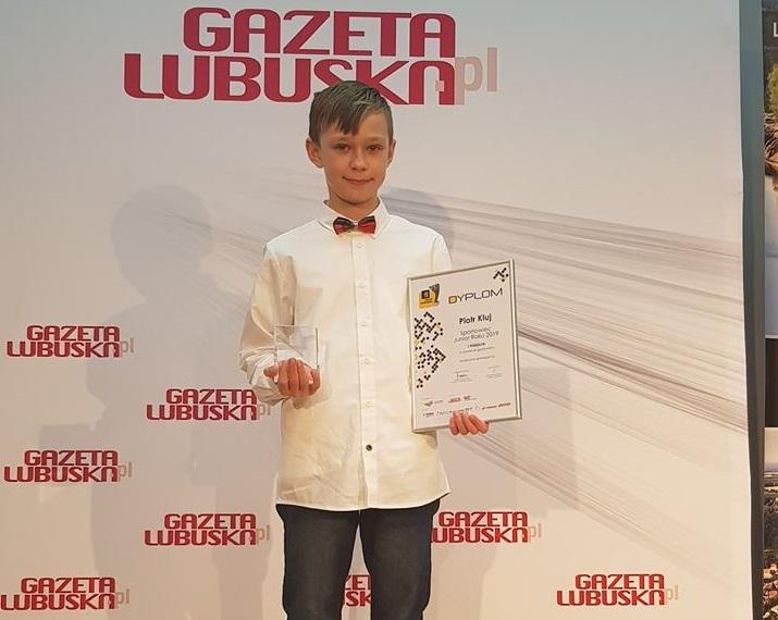 Piotr Kluj triumfuje w plebiscycie Gazety Lubuskiej