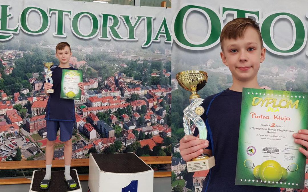 Piotr Kluj ponownie na podium w ogólnopolskich zawodach