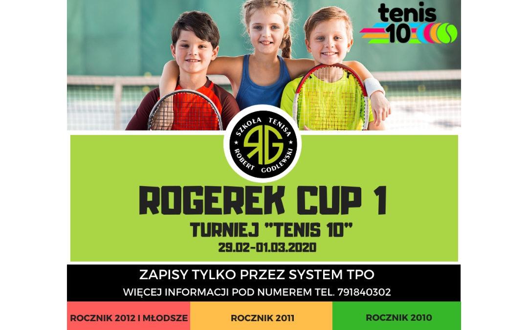 Zapraszamy najmłodszych tenisistów na Rogerek Cup